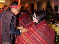 Bupati Enjoy di Natal Rukun Dos Ni Roha Minsel