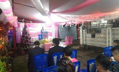 Nuansa Pink, Ibadah Pra Natal Ini Kreatif