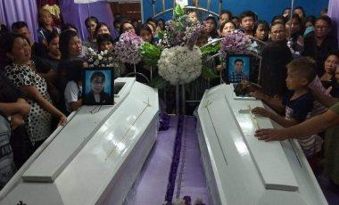 Pemakaman Pasutri Tewas Terbakar, Bercucuran Airmata