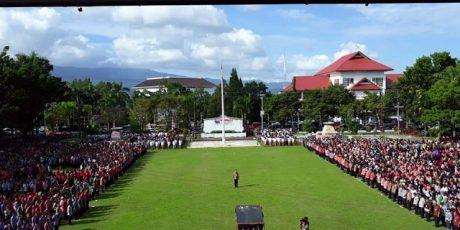 Ribuan ASN dan THL Pemprop Sulut Ikut Apel Perdana 2019