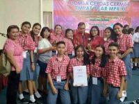SMA 1 Tenga Utusan Sulut di LCC 4 Pilar Tingkat Nasional