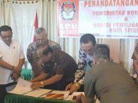Ketua KPU RI dan DKPP RI Kumpul di Bitung, Ternyata Lakukan Ini