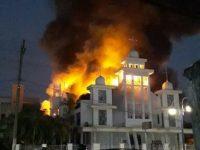 Jemaat Sempat Histeris, GMIM Solagratia Kaiwatu Manado, Terbakar
