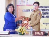 Pemkab Minsel Terima Kunjungan Ombudsman