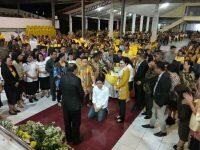 AJP Kembali Didoakan Hamba Tuhan di Minsel