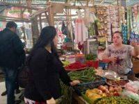 Saron Blusukan di Pasar Tumpaan