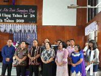 Sekab  Minahasa Hadiri HUT ke-28 GMIM Syalom Tounkuramber