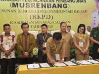 Pemkab Minsel Gelar Musrenbang RKPD