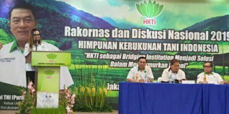SAS Wakili HKTI Berpidato Dukung Jokowi