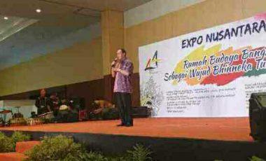 Bupati ROR Berbaur di HUT TMII ke 44 dan Nusantara Expo 2019