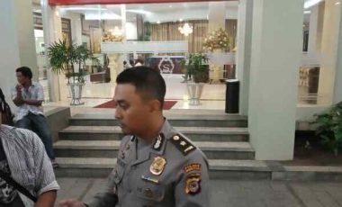 Pleno KPU Minsel Dijaga Ketat Aparat Polisi