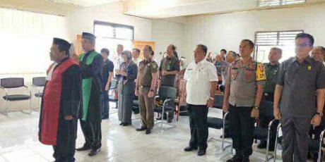 Sekda Korengkeng Hadiri Pelantikan Wakil Ketua PN Tondano