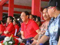Bupati-Wabup Minahasa Support Tim Sulut United