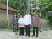 Kebersamaan Bupati ROR dan Presiden Jokowi di Sulut