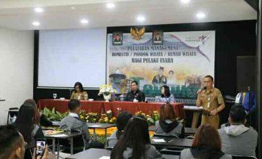 Management Rumah Wisata di Tomohon Dilatih