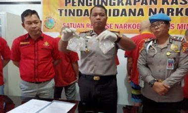 Polres Minsel Tangkap 4 Pelaku Narkoba