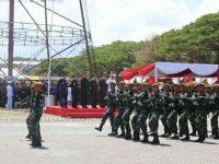 Ini Kemeriahan HUT TNI ke-74 di Manado