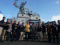 Dikawal KRI Sultan Nuku, BI Sulut Edarkan Uang di 7 Pulau Terpencil