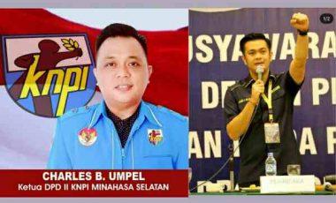 Ketua KNPI Minsel Dukung JAK Calon Ketua KNPI Sulut