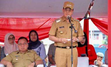 Kirab Budaya Jambore Pemuda Indonesia di Minahasa