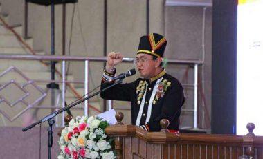 "Kemeriahan HUT Minahasa ke 591, Semboyan ""Sitou Timou Tumou Tou"" Digalakkan"