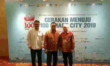 Wabup Minahasa Hadiri Kegiatan Gerakan 100 Smart City