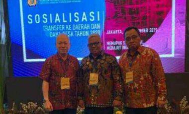 Wabup Minahasa Hadiri Sosialisasi Transfer ke Daerah