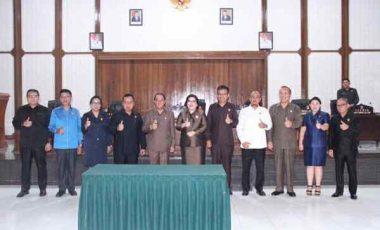 DPRD Minahasa Fokus Pembahasan  Ranperda APBD 2020