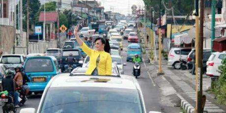 Ini Arak-arakan SAS Mendaftar di Nasdem Bacalon Walikota