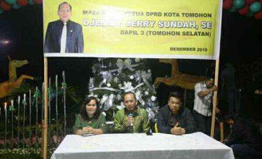 Ketua DPRD Tomohon Serap Aspirasi Warga
