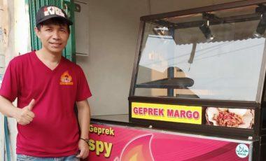 Delfie Najoan Sukses Rintis Waralaba Geprek Margo