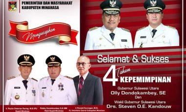 4 Tahun ODSK Pimpin Sulut, Minahasa Rasakan Dampak Positifnya