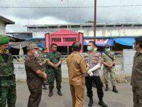 Aktivitas Pasar Tradisional di Minahasa Dibatasi