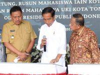 Resmikan KEK Bitung, Jokowi Puji Perekonomian Sulut