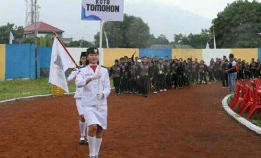 Di-support Walikota, 361 Kontingen  Tomohon Berlaga di Porprov