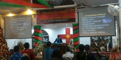 Ibadah Pra Natal P/KB Betlehem Malalayang, Ini Pesan Walikota