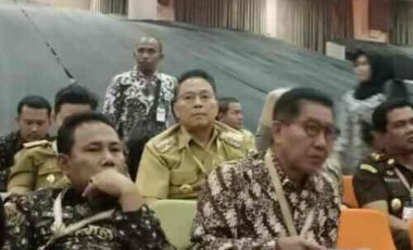 Walikota Eman  Hadiri Rakornas Bersama Presiden