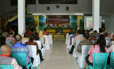 Kabupaten dan Kota se Sulut Rapat EPRA di Tomohon