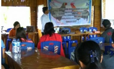 PKM Kelompok Usaha Ternak Ayam Kampung, Desa Tuutu, Kecamatan Tondano Barat, Kabupaten Minahasa, Propinsi Sulawesi Utara