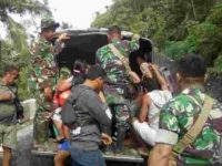 Kampung Ini Mencekam, Akibat Erupsi Karangetang