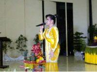 Suara Emas Wawali SAS di Perayaan Tulude Tomohon